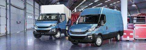 Tasso zero e due anni di manutenzione inclusa sull'acquisto della Gamma Iveco da Lombardia Truck.